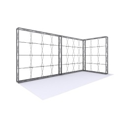 20ft Lumière Wall® Configuration C - NO BACKLIT (Graphic Package)