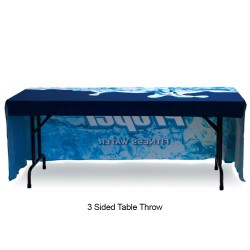 6ft Table Throw Full Color Printing