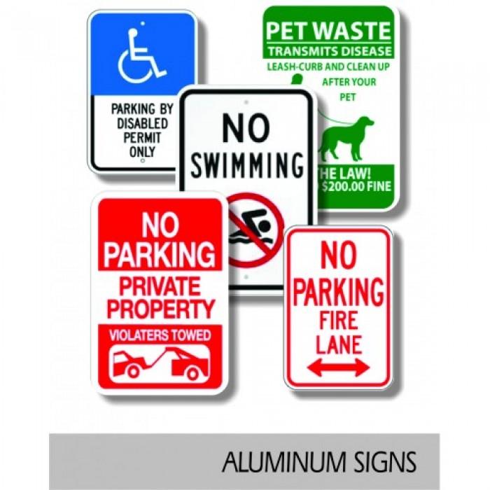 Aluminum Board Signs